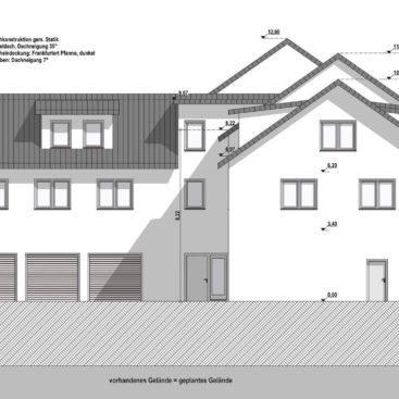 Bruchköbel, Schmiedestraße 1, 10 Wohneinheiten, Mehrfamilienhaus